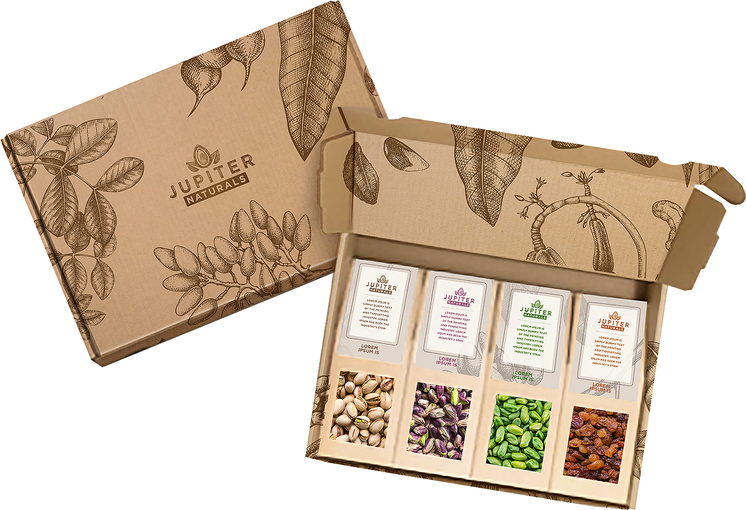 premium nuts and dried fruits